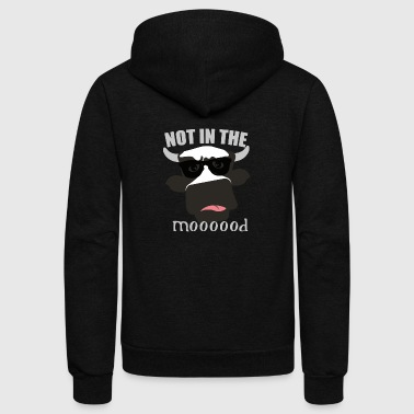 not in the mood - Unisex Fleece Zip Hoodie