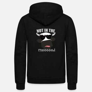 Mood not in the mood - Unisex Fleece Zip Hoodie