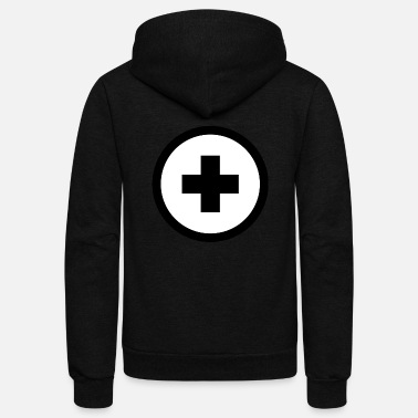 Plus plus - Unisex Fleece Zip Hoodie