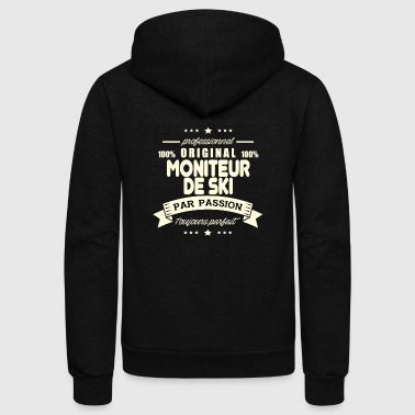 Original ski instructor - Unisex Fleece Zip Hoodie