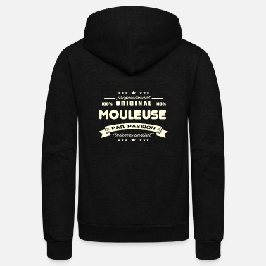 Mold Original Molding Machine - Unisex Fleece Zip Hoodie