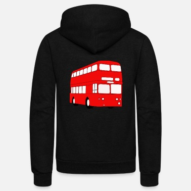 London london bus - Unisex Fleece Zip Hoodie