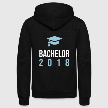 Graduation. Graduated. Graduate. Classof2018 - Unisex Fleece Zip Hoodie