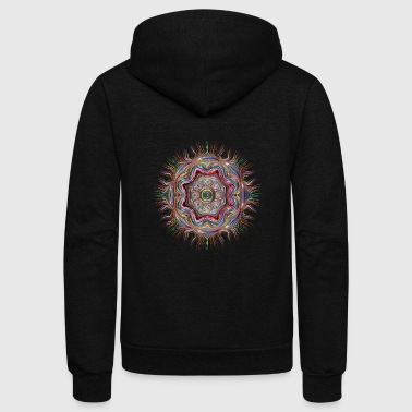 Colorful goa - Unisex Fleece Zip Hoodie