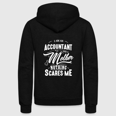 Accountant And Mother Shirt - Unisex Fleece Zip Hoodie