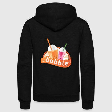 Milkshake Milkshake Bubble - Unisex Fleece Zip Hoodie
