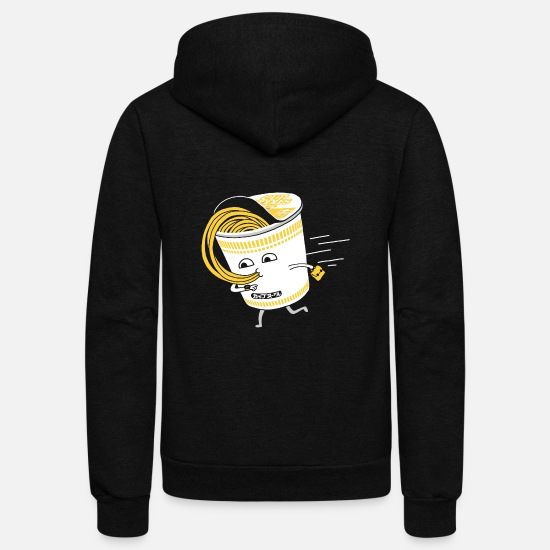 Game Hoodies & Sweatshirts - Quick Meal in a Rush - Unisex Fleece Zip Hoodie black