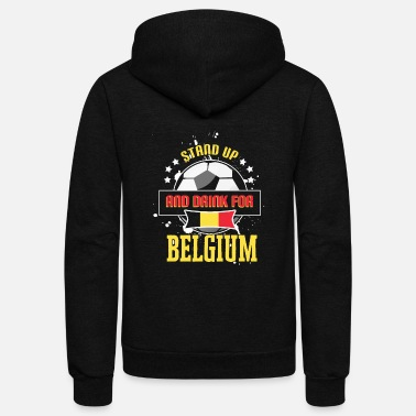 World-cup World Cup Belgium - Unisex Fleece Zip Hoodie