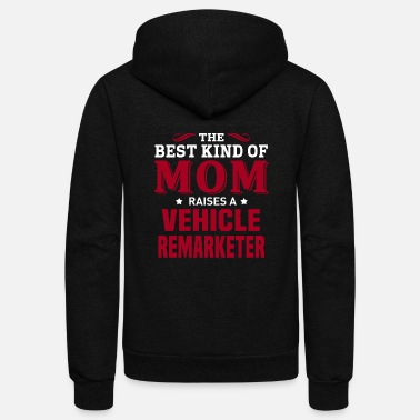 Vehicle Vehicle Remarketer - Unisex Fleece Zip Hoodie