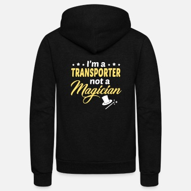 Transport Transporter - Unisex Fleece Zip Hoodie