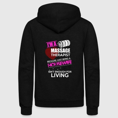 Massage Therapist - Unisex Fleece Zip Hoodie