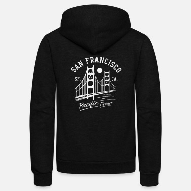 Golden Gate San Francisco Golden Gate - Unisex Fleece Zip Hoodie