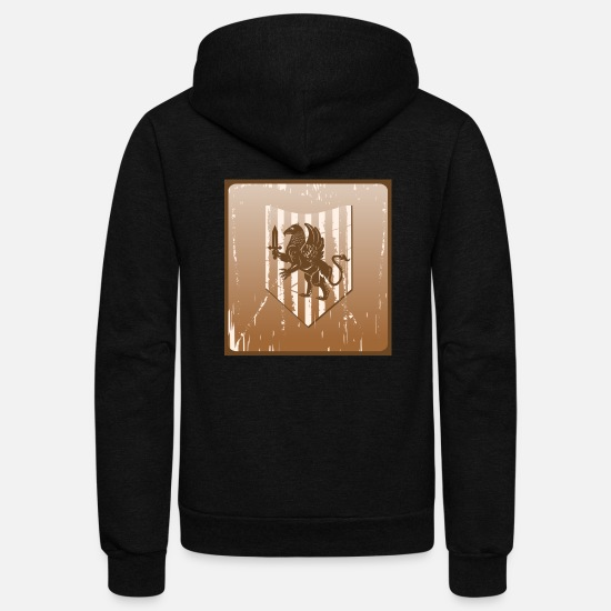 Movie Hoodies & Sweatshirts - New Sword - Unisex Fleece Zip Hoodie black