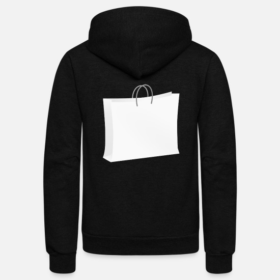 Wear Hoodies & Sweatshirts - backpack suitcase rucksack bag aktenkoffer29 - Unisex Fleece Zip Hoodie black