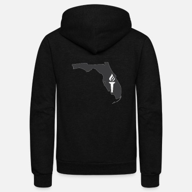 Region Florida - The Southeast Regional Academy - Unisex Fleece Zip Hoodie