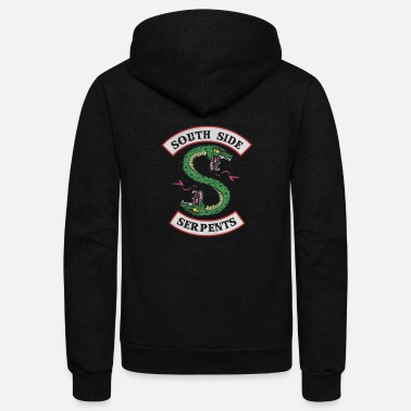 Southside snake serpents - Unisex Fleece Zip Hoodie
