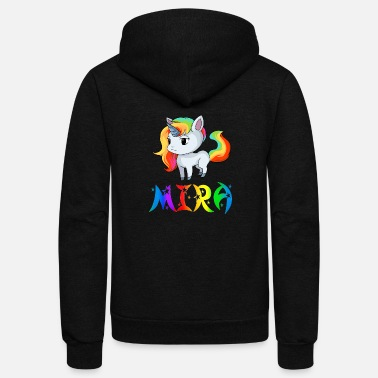 Mira Mira Unicorn - Unisex Fleece Zip Hoodie