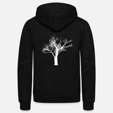 Nature The tree in nature - Unisex Fleece Zip Hoodie