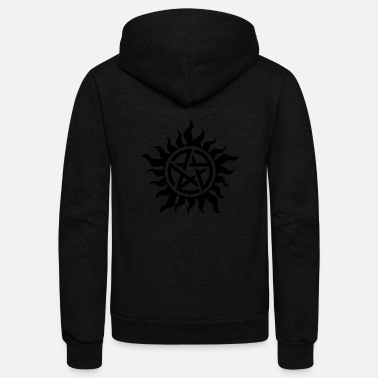 Possesion free, supernatural - Unisex Fleece Zip Hoodie