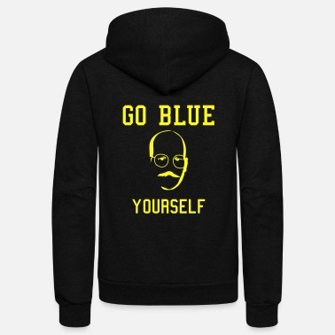 Arrested Development Tobias Go Blue Yourself - Unisex Fleece Zip Hoodie