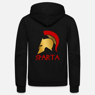 Greece Sparta - Unisex Fleece Zip Hoodie