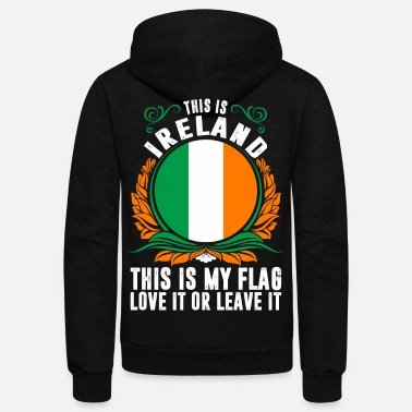 Ireland This Is Ireland - Unisex Fleece Zip Hoodie