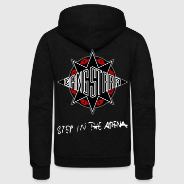 GANGSTARR - STEP IN THE ARENA - Unisex Fleece Zip Hoodie