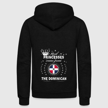 Dominican Republic queen love princesses THE DOMINICAN REPUBLIC - Unisex Fleece Zip Hoodie