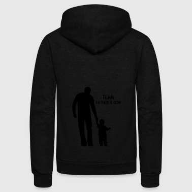 Team Shirt Father And Son Gift - Unisex Fleece Zip Hoodie