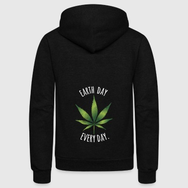 Greenpeace Earth Day Every Day T-Shirt - Unisex Fleece Zip Hoodie