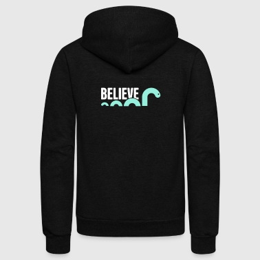 Believe | Loch Ness Monster - Unisex Fleece Zip Hoodie