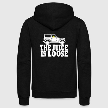 Juice Is Loose - Unisex Fleece Zip Hoodie