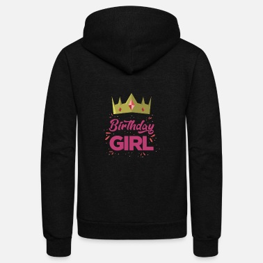 Birthday (Gift) Birthday girl - Unisex Fleece Zip Hoodie