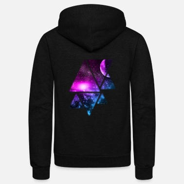 Galaxy Galaxy - Unisex Fleece Zip Hoodie