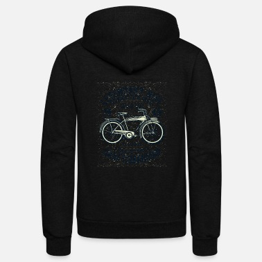 Classic Bicycle - Unisex Fleece Zip Hoodie
