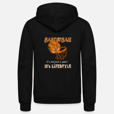 Sports basketball sport - Unisex Fleece Zip Hoodie