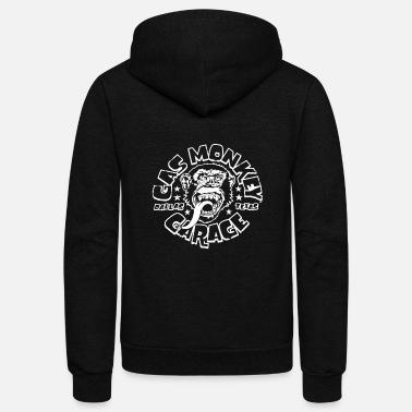 Gas Gas Monkey Garage Logo Fast N Loud Texas - Unisex Fleece Zip Hoodie