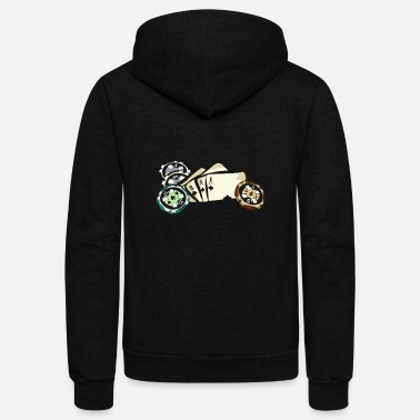 Holdem Poker, Texas Holdem - Unisex Fleece Zip Hoodie