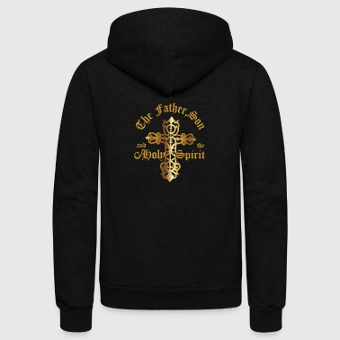 The Father, Son & Holy Spirit - Unisex Fleece Zip Hoodie
