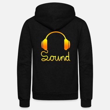 Headphones headphone - Unisex Fleece Zip Hoodie