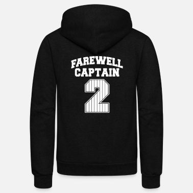 Farewell Farewell captain - farewell captain 2 - Unisex Fleece Zip Hoodie