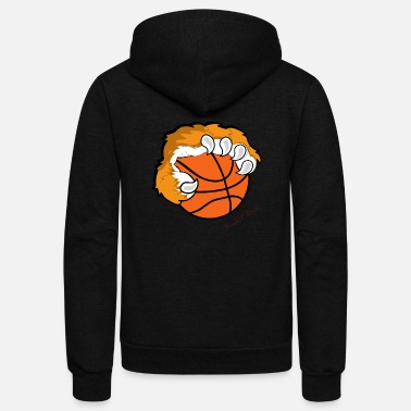 Basket Basket ball - Unisex Fleece Zip Hoodie