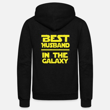 Husband Husband - The best husband in the galaxy - Unisex Fleece Zip Hoodie