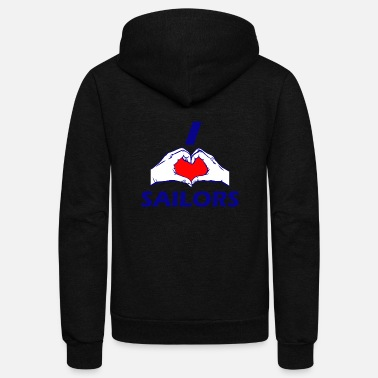 Sailor Design SAILOR DESIGN - Unisex Fleece Zip Hoodie