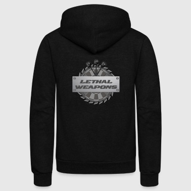 Lethal Weapons - Unisex Fleece Zip Hoodie