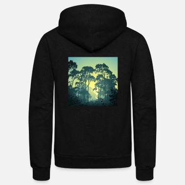 Forest Forest - Unisex Fleece Zip Hoodie