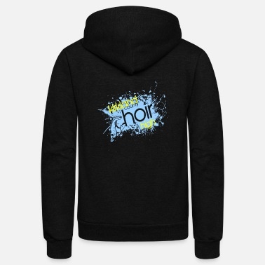 Choir Kirkland County Choir High - Unisex Fleece Zip Hoodie