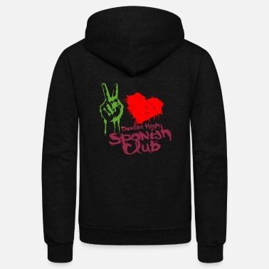 Dexter High Spanish Club - Unisex Fleece Zip Hoodie