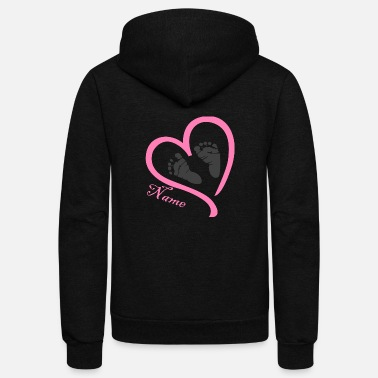 Name Day Name - Unisex Fleece Zip Hoodie