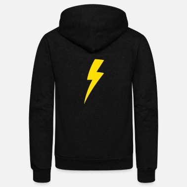 Lightning Lightning bolt - Unisex Fleece Zip Hoodie